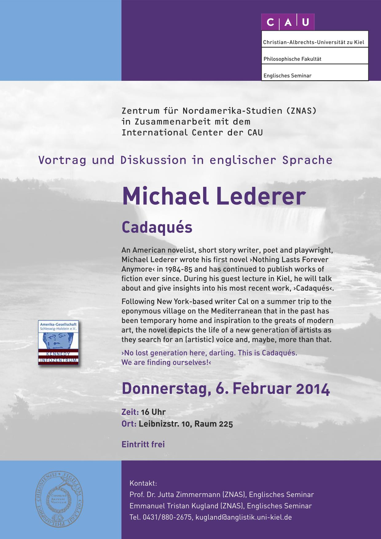 Poster Guest Lecture Lederer